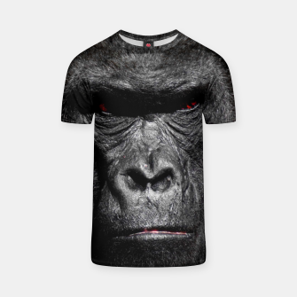 Thumbnail image of Gorilla  Face T-shirt, Live Heroes