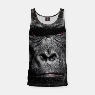 Thumbnail image of Gorilla  Face Tank Top, Live Heroes