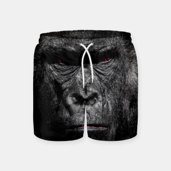Thumbnail image of Gorilla  Face Swim Shorts, Live Heroes