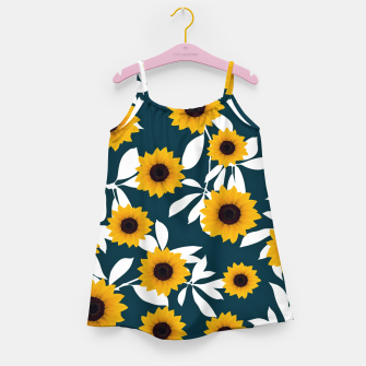 Thumbnail image of Sunflower pattern Girl's dress, Live Heroes
