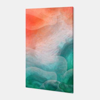 "Miniaturka ""Coral sand beach and tropical turquoise sea"" Canvas, Live Heroes"