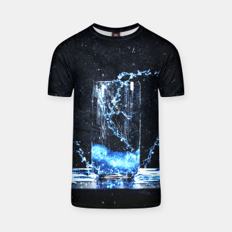 Thumbnail image of Blue Energy Drink T-Shirt, Live Heroes