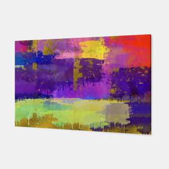 Thumbnail image of Abstract Watercolor Paint and Gold texture - Digital art Canvas, Live Heroes