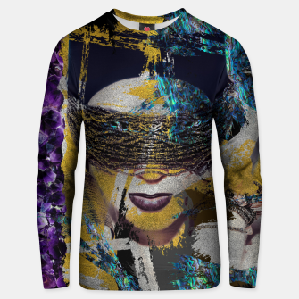 Miniaturka Abstract Art Composition Female face Cotton sweater, Live Heroes
