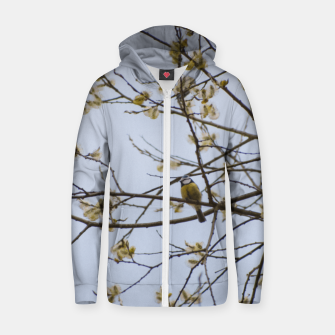 Miniatur Early spring Cotton zip up hoodie, Live Heroes