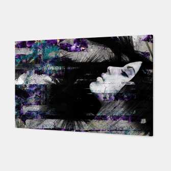 Thumbnail image of Abstract Art Composition Female face Canvas, Live Heroes