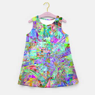 Miniature de image de Art Love Girl's summer dress, Live Heroes