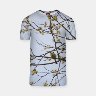 Miniatur Early spring T-shirt, Live Heroes