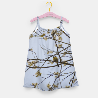 Miniatur Early spring Girl's dress, Live Heroes