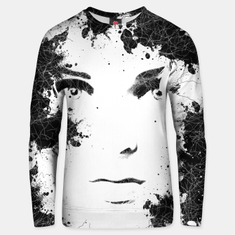 Miniaturka Abstract Black and White Composition Cotton sweater, Live Heroes