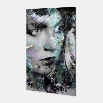 Thumbnail image of Abstract Digital Art Composition Canvas, Live Heroes