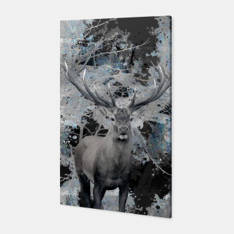Thumbnail image of Abstract Digital Art Composition Deer Canvas, Live Heroes