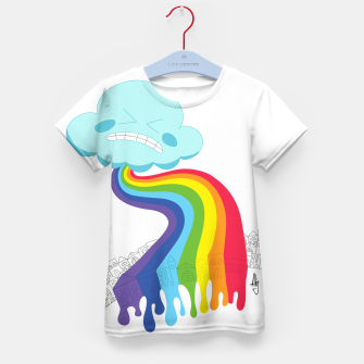 Thumbnail image of RainPoop Kid's t-shirt, Live Heroes