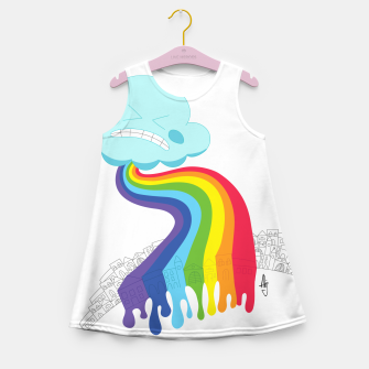 Miniature de image de RainPoop Girl's summer dress, Live Heroes