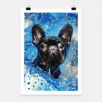 French Bulldog -Frenchie Dog Poster miniature