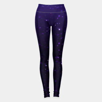 Miniaturka  the galaxy's edge [no text] Yoga Pants, Live Heroes