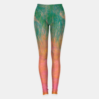 Miniaturka chillwave sunset Yoga Pants, Live Heroes