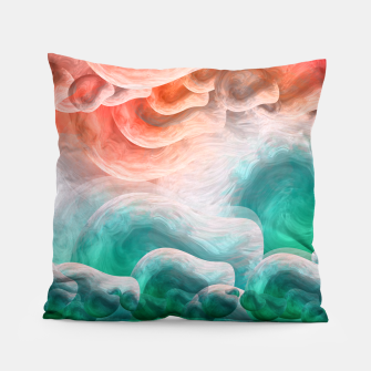 "Miniaturka ""Coral sand beach and tropical turquoise sea 02"" Almohada, Live Heroes"