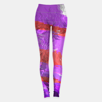 Thumbnail image of y4nd3r3 Yoga Pants, Live Heroes
