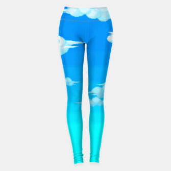 Thumbnail image of clouds.exe Yoga Pants, Live Heroes