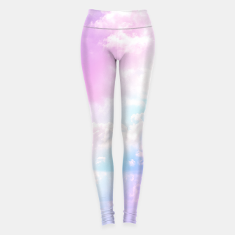 Thumbnail image of Pastel Rainbow Aesthetic Yoga Pants, Live Heroes