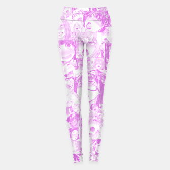 Thumbnail image of Pastel Ahegao Collage Yoga Pants, Live Heroes