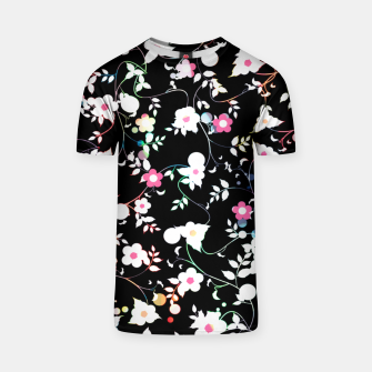 Thumbnail image of White flowers T-shirt, Live Heroes
