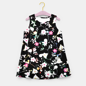 Miniature de image de White flowers Girl's summer dress, Live Heroes