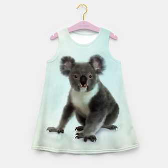 Miniature de image de Koala Bear Digital Art  Girl's summer dress, Live Heroes