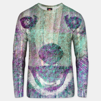 Miniaturka Red Panda Abstract mixed media digital art collage Cotton sweater, Live Heroes