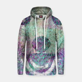 Miniaturka Red Panda Abstract mixed media digital art collage Cotton hoodie, Live Heroes