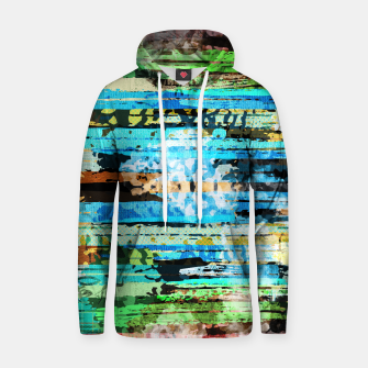 Thumbnail image of Egyptian hieroglyphs on textured background Cotton hoodie, Live Heroes