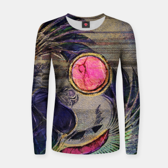 Miniature de image de Egyptian Scarab Beetle Abstract on canvas Woman cotton sweater, Live Heroes