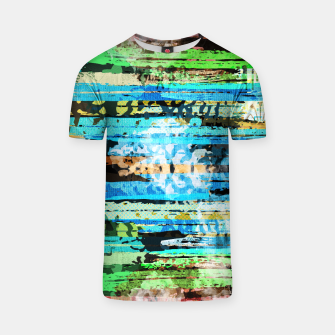 Thumbnail image of Egyptian hieroglyphs on textured background T-shirt, Live Heroes