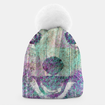 Miniaturka Red Panda Abstract mixed media digital art collage Beanie, Live Heroes