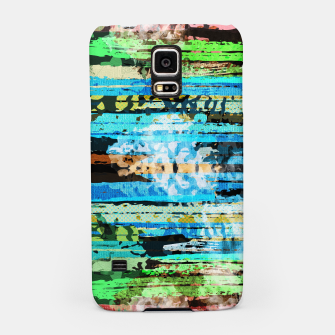 Thumbnail image of Egyptian hieroglyphs on textured background Samsung Case, Live Heroes