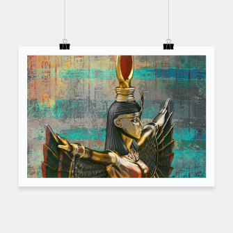 Miniature de image de Isis - Goddess of Egypt Abstract composition Poster, Live Heroes