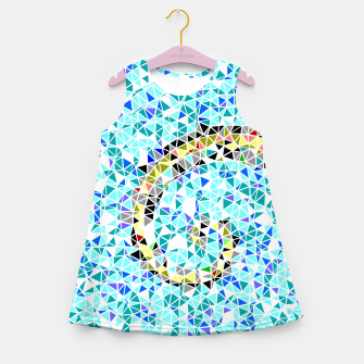 Miniature de image de Mediterranean wave Girl's summer dress, Live Heroes