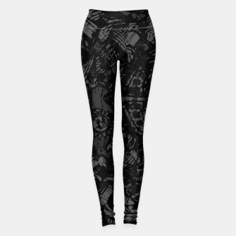 Woke Up To The Sweet Sound Of HEAVY METAL Leggings thumbnail image