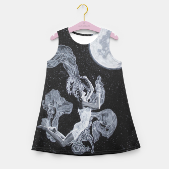 Miniature de image de Moon child 2 Girl's summer dress, Live Heroes