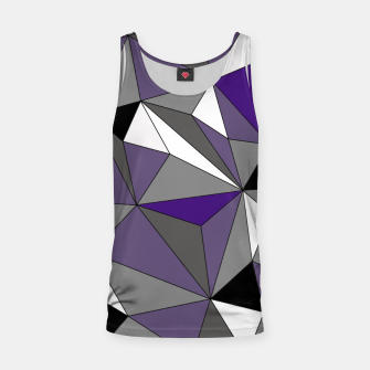 Imagen en miniatura de Abstract geometric pattern - gray, purple, black and white. Tank Top, Live Heroes