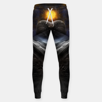 Thumbnail image of Star Of Equinon Cotton sweatpants, Live Heroes
