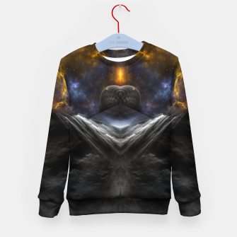 Thumbnail image of Equinon Mountain Kid's sweater, Live Heroes