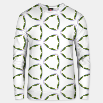 Thumbnail image of Olive Leaves Pattern Cotton sweater, Live Heroes