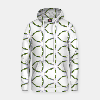 Thumbnail image of Olive Leaves Pattern Cotton hoodie, Live Heroes