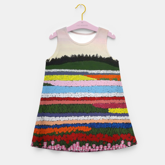 Miniature de image de Keukenhof garden Girl's summer dress, Live Heroes