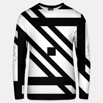 Thumbnail image of GeoMixPat Cotton sweater, Live Heroes