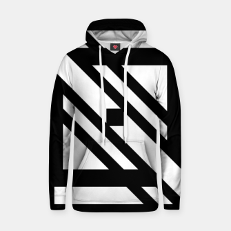 Thumbnail image of GeoMixPat Cotton hoodie, Live Heroes