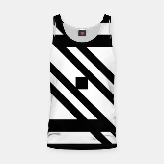 Thumbnail image of GeoMixPat Tank Top, Live Heroes
