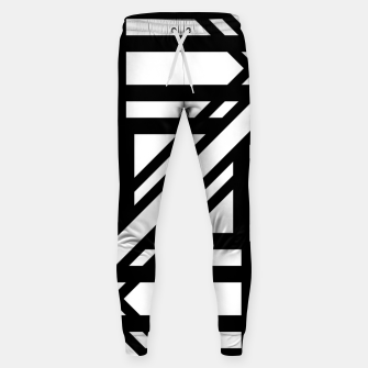 Thumbnail image of GeoMixPat Cotton sweatpants, Live Heroes